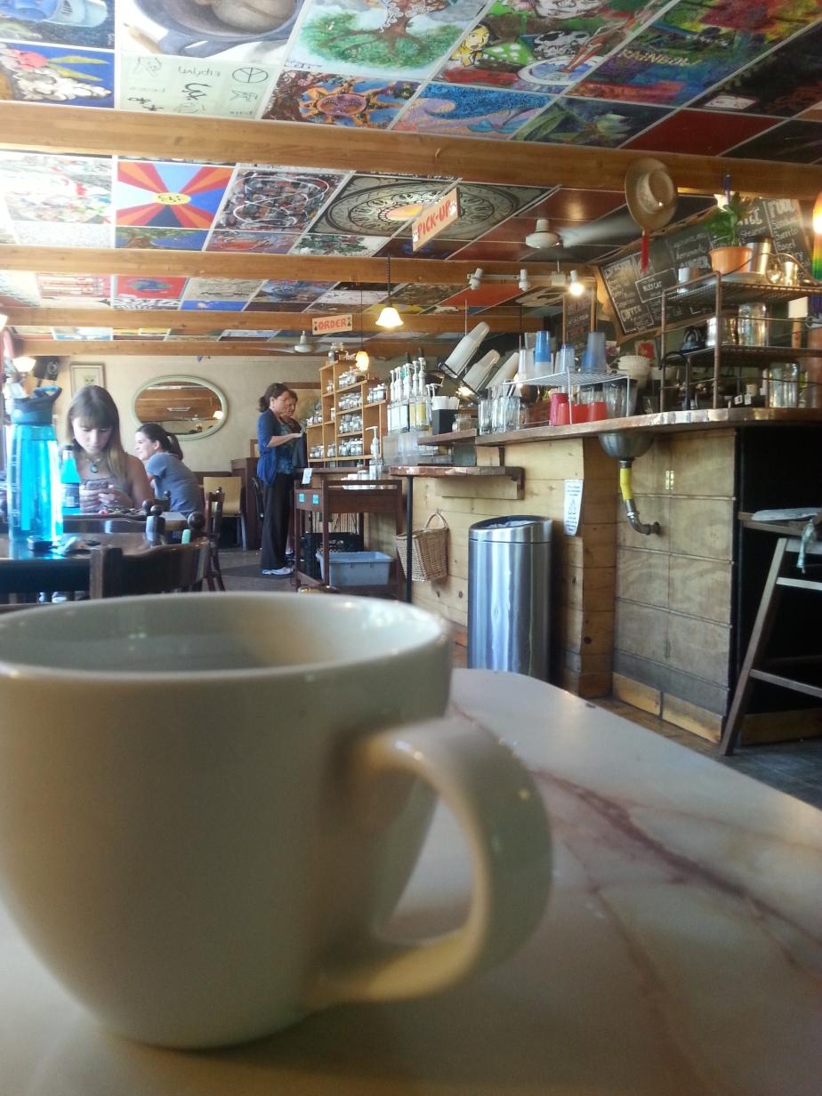 Coffee Shop Writing.